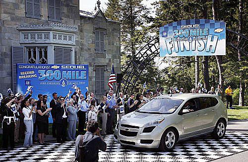 Chevrolet Sequel se zapsal do historie