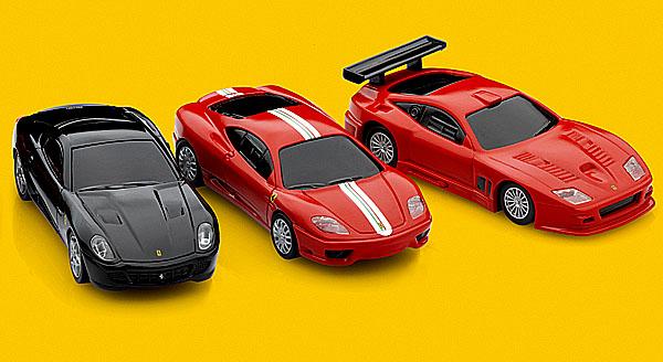 Modely Ferrari pro malé i velké opět na čerpacích stanicích Shell