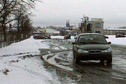 Řízení auta vextrémních podmínkách