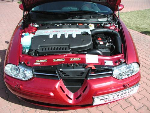 Alfa Romeo: Nový turbodiesel 1.9 JTD 16v Multijet