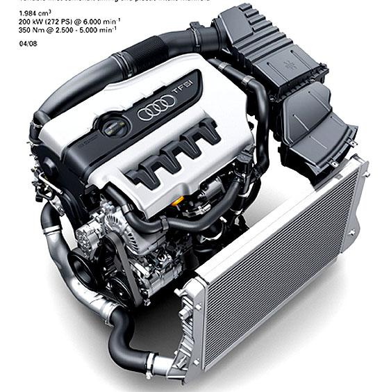Motor Audi 2.0 TFSI získal prestižní ocenění International Engine of the Year 2008