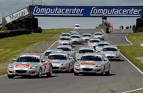 Pátý závod Mazda RX-8 Formula Woman se jel v neděli 4.7.