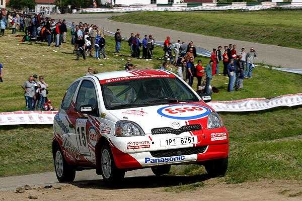Marcel Tuček dnes vsobotu 26. června startuje ve třetím dílu šampionátu Rallyespint Kopná