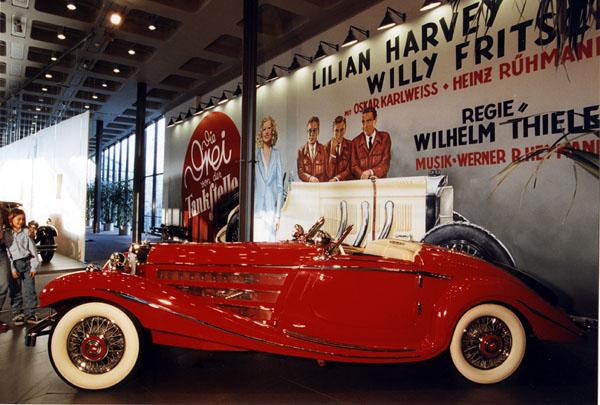 Muzeum Mercedes Benz: Jedinečná přehlídka krásy