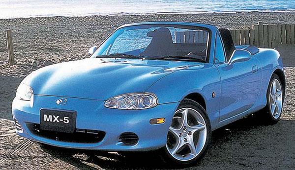 Mazda MX-5 slaví své 15. výročí