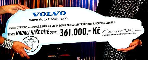 Volvo pomáhá dětem