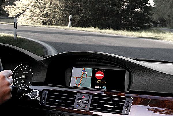 """Včasné varování řidičů směřujících do špatného směru – varování """"řidič v protisměru"""""""