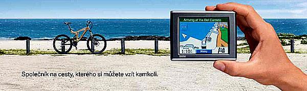 Nový přenosný navigační systém BMW