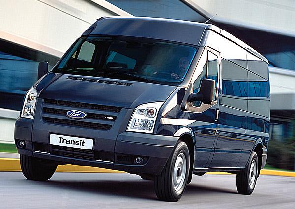 Ford Transit je nejúspornější!