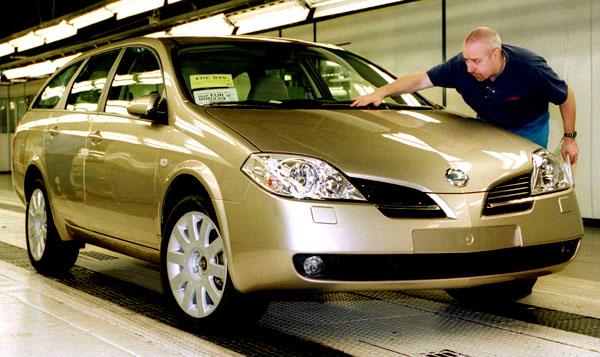 Nový Nissan Primera bude u nás vprodeji vdubnu 2002
