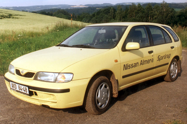 Nissan Almera Spring - nejslabší Almera potěšila