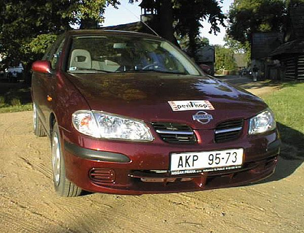 Nissan Almera 2.2 DI: Sedan opět nezklamal