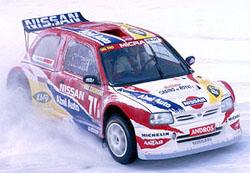 Peterhansel získal na ledě vítězství pro Nissan