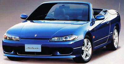 Nissan Silvia Convertible Varietta do sériové výroby
