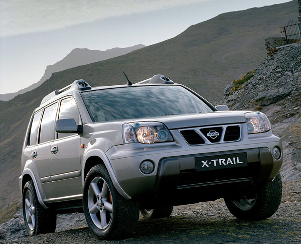 Nissan X-Trail: studie pro volný čas