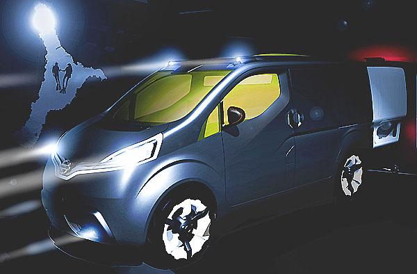 Nissan představil dodávku budoucnosti