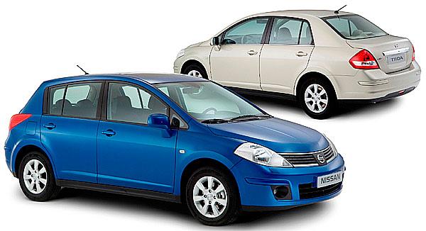 Nissan představuje vEvropě model Tiida