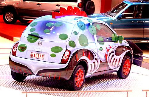 Nissan Micra očima Waltera Van Beirendoncka