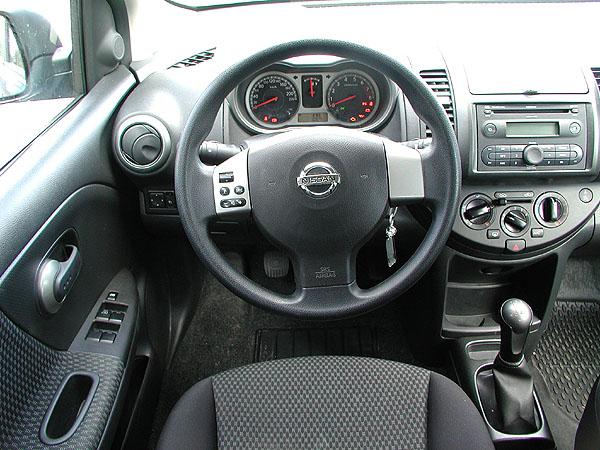 Rodinný pětidveřový Nissan Note vtestu redakce