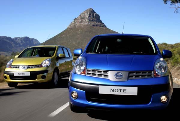 Vynikající prodejní výsledky Nissanu NOTE