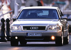 Nová výzva: Audi A8