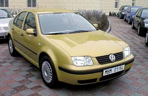 Bora – nový Volkswagen vprodeji