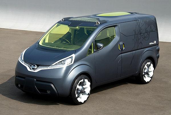 Nissan představí unikátní koncept dodávky na Autotecu vBrně (4. až 8.června)
