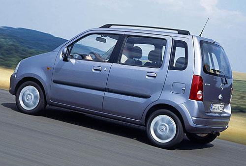 Opel Agila s novými výkonnými úspornými motory a novým designem