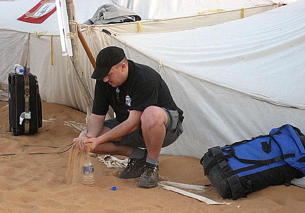 Na AUTOTECU 2006 vyhrál zájezd na Rallye Lisabon-Dakar