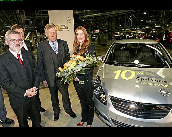 Ze závodu Opel v Eisenachu vyjel desetimiliontý Opel