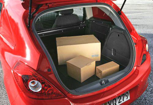 Nová Opel Corsa Van - světová premiéra na autosalonu vBruselu 13. až 21. ledna 2007