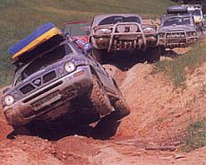 Nissan off - road expedice 99 - KARPATY