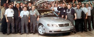 Opel: 50 milionů vyrobených automobilů!