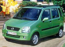 Mikrovan Opel Agila - prostor a variabilita