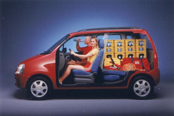 Opel Agila: První evropský mikrovan
