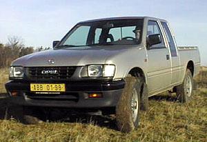 Opel Campo – pro podnikání i pro volný čas