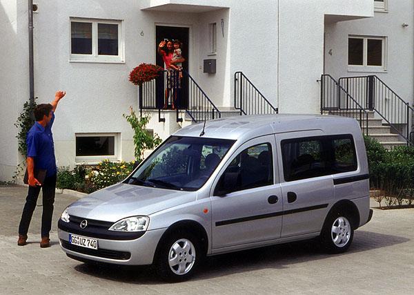 Opel Combo Tour pro rodinu a volný čas