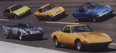 Opel GT - Sportovní elegán