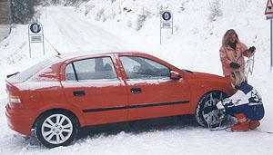 Opel k bezpečné jízdě v zimě