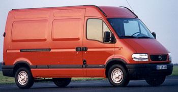 MOVANO: nová generace užitkových vozů OPEL