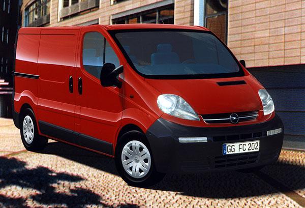 Opel Vivaro: Nová řada skříňových vozů