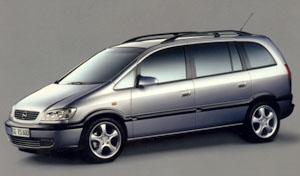 Opel Zafira na trh na jaře 1999