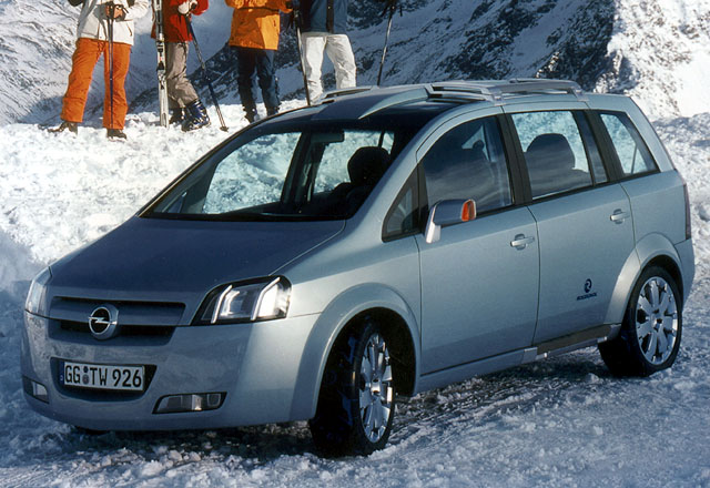 Opel Zafira Snowtrekker: Světová premiéra vDetroitu