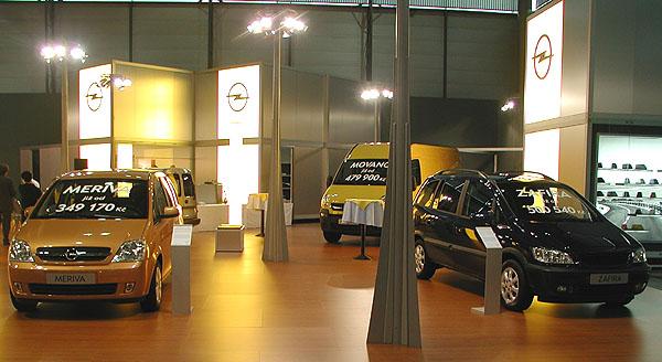 Opel na autosalonu užitkových vozů Autotec v Brně