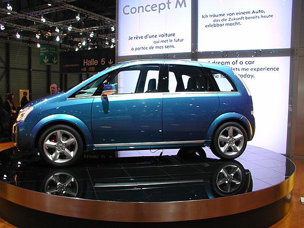 Opel představil ve světové premiéře na právě probíhajícím autosalonu vŽenevě Concept M (1)