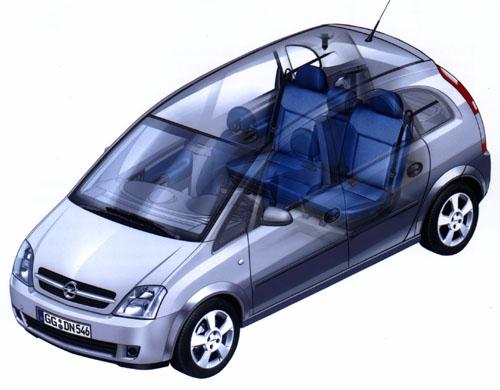 Opel Meriva - nová dimenze segmentu kompaktních vozů