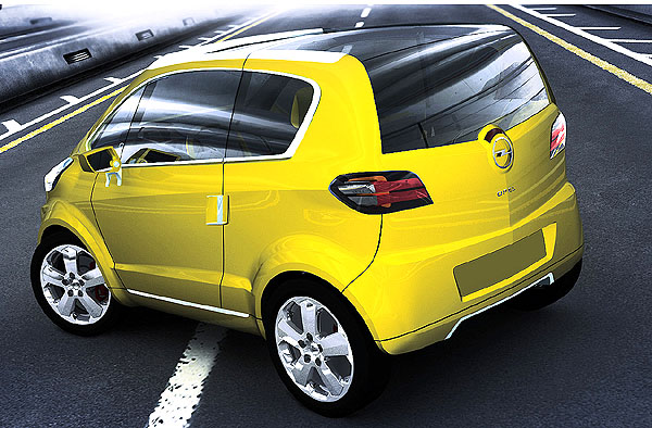 Světová premiéra březnového Mezinárodního autosalonu vŽenevě - Opel TRIXX
