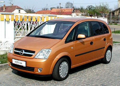 Nová pětimístná Opel Meriva již v prodeji na našem trhu