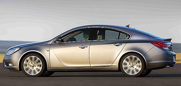 Opel Insignia: Dvojitá premiéra na autosalonu vLondýně (23. července – 3. srpna)