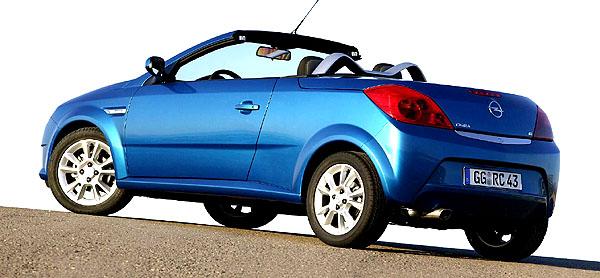 Tigra TwinTop: Nový dvousedadlový kupé-kabriolet automobilky Opel